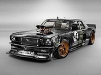 Lewis Hamilton le quiere comprar el Ford Mustang a Ken Block