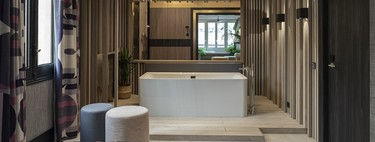 La bañera Collaro de Villeroy & Boch protagoniza uno de los espacios más rompedores de docontractMAD