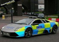 Lamborghini Murcielago LP640 para la policía inglesa