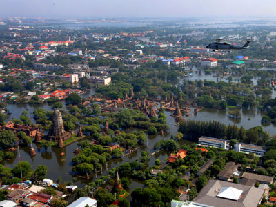 Bangkok podría estar bajo el agua en 30 años