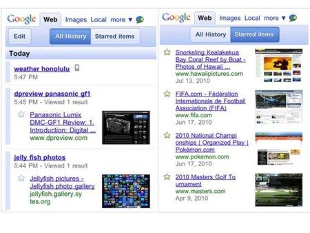 Ya podemos consultar nuestro historial de búsquedas desde la versión móvil de Google Search