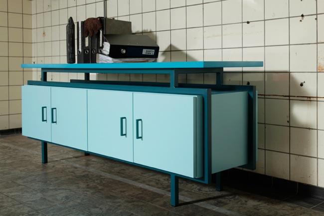 Mobiliario de estilo retro para la oficina - Estilos de mobiliario ...