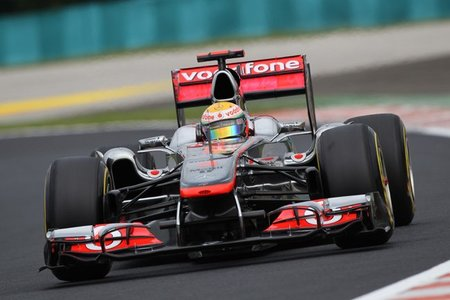 Lewis Hamilton, alternativa a Red Bull en Hungaroring