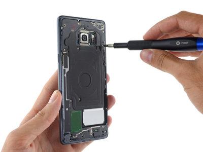 La elegancia del Samsung Galaxy Note 7 va en contra de su facilidad de reparación