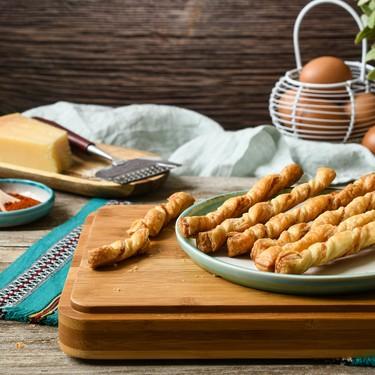 Cuatro aperitivos con hojaldre sencillos y deliciosos para innovar en tu mesa