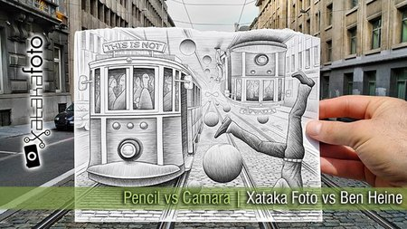 Pencil vs Camera | Xataka Foto vs Ben Heine