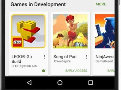 El acceso anticipado llega a los juegos de Android en Google Play