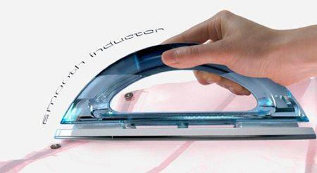 Conceptos innovadores para el hogar inteligente: plancha por inducción
