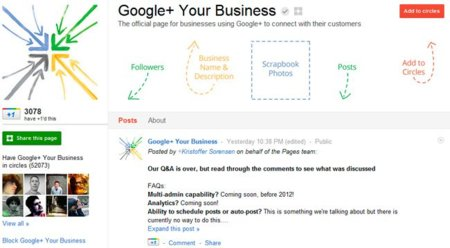 Google+ pronto dejará administrar páginas desde su versión móvil y pide sugerencias para los eventos