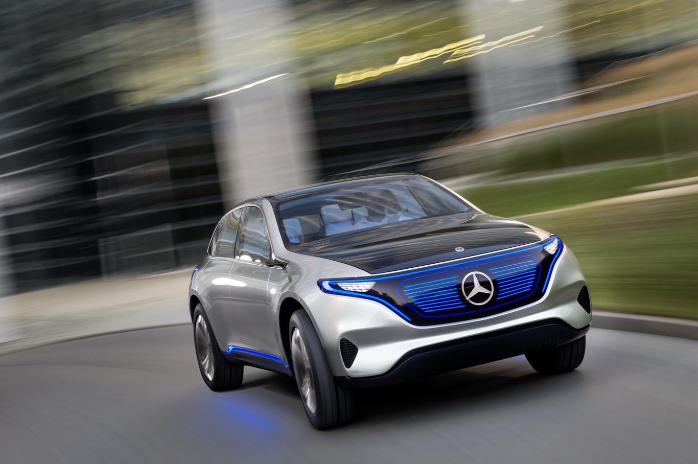 Foto de Mercedes-Benz Generation EQ Concept (4/11)