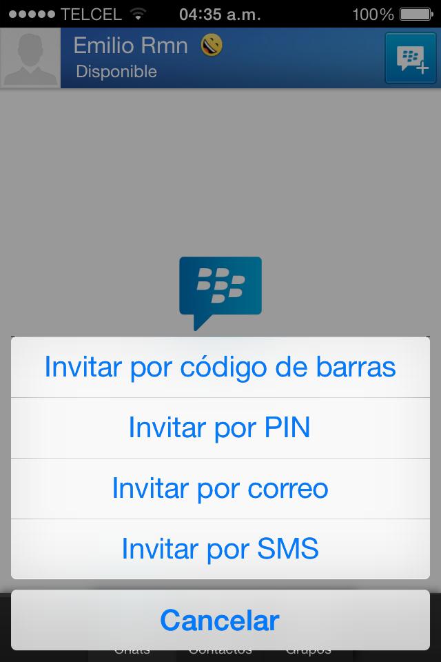 Foto de BBM para iOS (5/8)