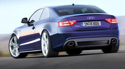 Recreación e información del Audi RS5