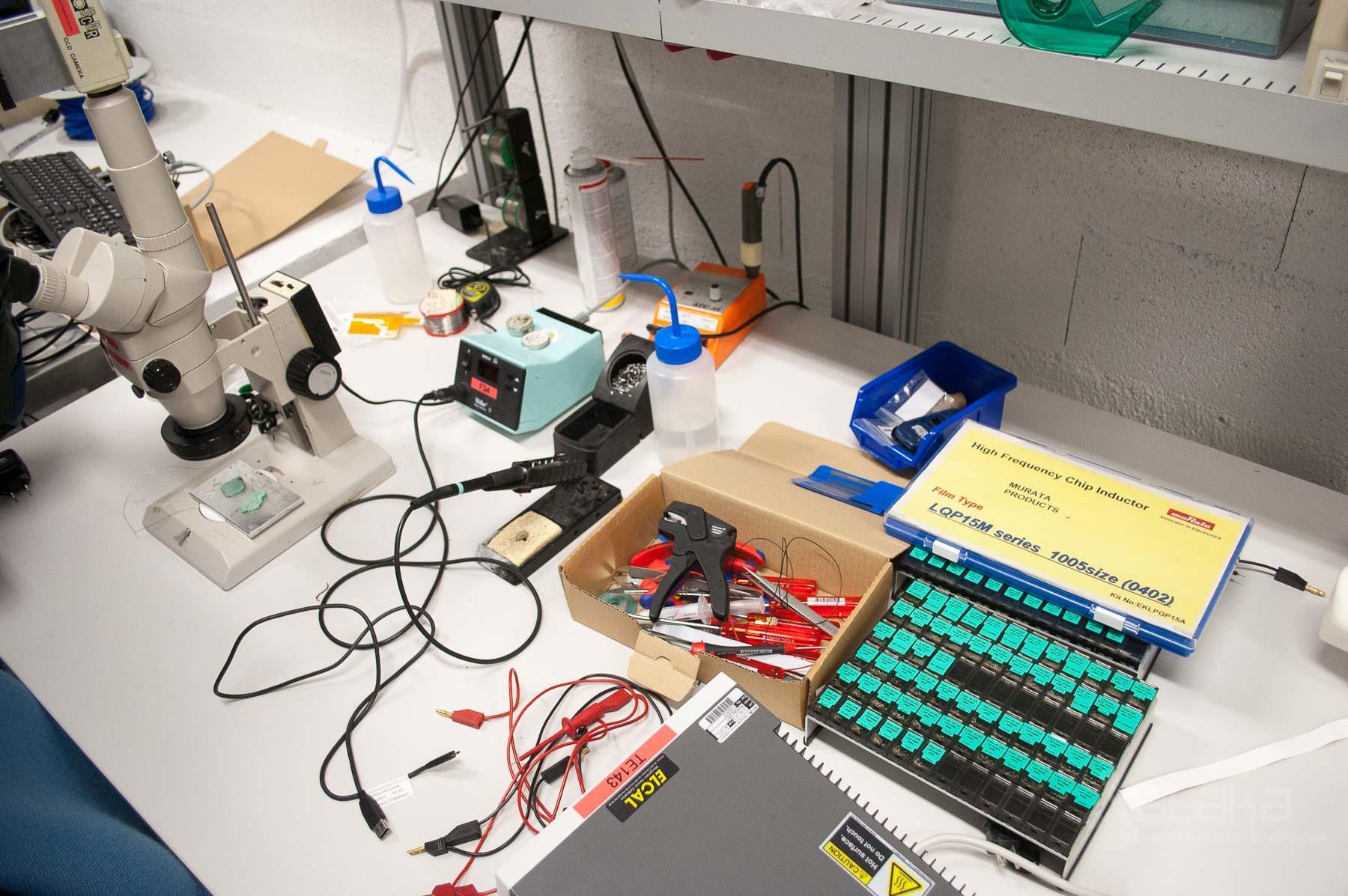 Foto de Logitech Lausanne, visita a sus laboratorios (27/49)