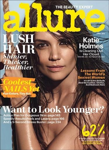 Katie Holmes, hay que ver qué sexy te pones para Allure