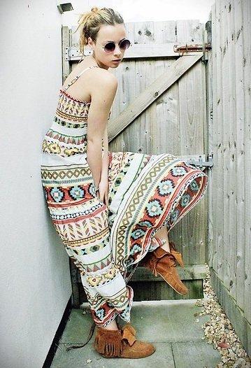 vestido azteca