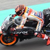 El bucle de los test de postemporada de MotoGP que no ocultan el favoritismo de Marc Márquez