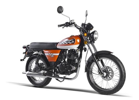 Mash Seventy 125 cc, barata y bonita made in China
