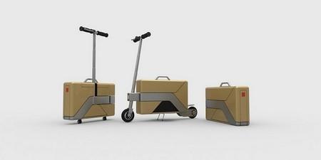 Commute Case, un monopatín eléctrico en un maletín