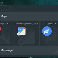 Google Maps 9.39 estrena un widget para consultar el tráfico cercano