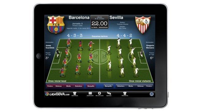 LigaBBVA HD app para iPad