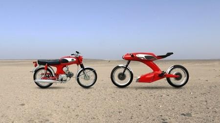 Honda S90 50 aniversario por Igor Chak