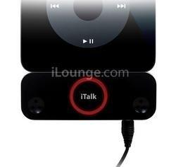 iTalkPro convierte tu iPod en una grabadora de audio