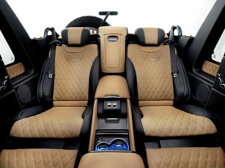Mercedes G 650 Landaulet interior