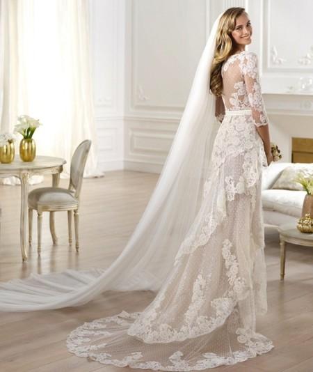 las 12 tendencias de moda para tu vestido de novia en otoño