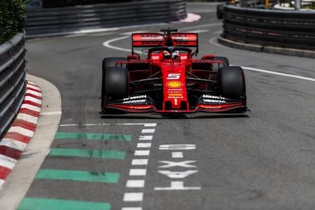 Vettel Monaco Formula 1 2019