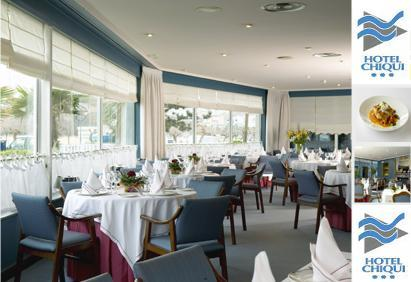 Restaurante del Hotel Chiqui en El Sardinero, Santander