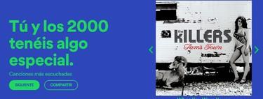 Descubre cuál es tu década favorita de la música con esta nueva web de Spotify
