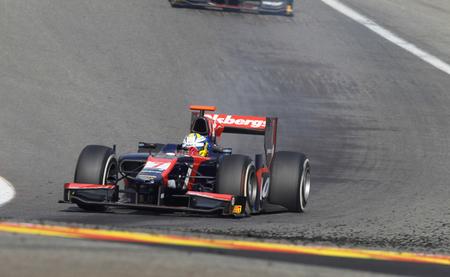 Marcus Ericsson y Josef Kral vencen en Bélgica en la GP2, el campeonato más igualado que nunca