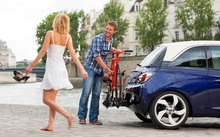 El Opel Adam tendrá el portabicicletas FlexFix opcionalmente