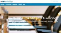 Bookmeeting: reservas online de salas y paquetes de reuniones para tus viajes de negocios