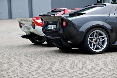 Nuevo Lancia Stratos: basado en el Ferrari F430, y no es un Lancia