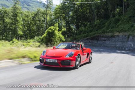 Porsche Boxster Spyder Toma Contacto 2