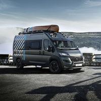 Esta Peugeot Boxer 4x4 Concept es una aventurera furgoneta camper con un toque todoterreno