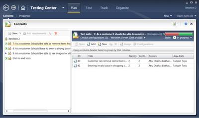 Testing de aplicaciones con Microsoft Test Manager 2010