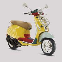La Vespa Primavera Sean Wotherspoon es una moto multicolor para volver a los ochenta por 4.990 euros
