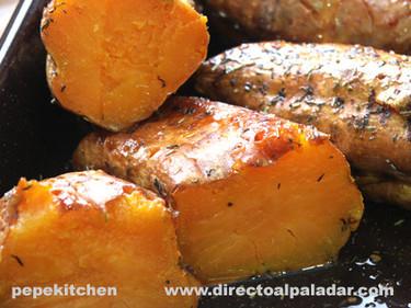 Receta de batatas asadas