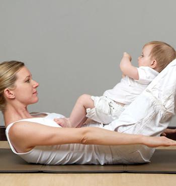 Vuelve a estar en forma tras el embarazo con Bebé-Pilates