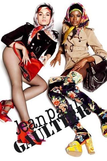 Campaña Otoño-Invierno 2010/2011 de Gaultier. La reina de las curvas cede su trono