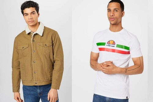 Hasta 40% de descuento en About You, con chaquetas Nike, polos Lacoste o camisetas Levi's a mejor precio