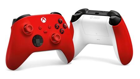 Nuevo control rojo de Xbox Series X y Xbox Series S disponible en México