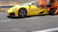Dolorpasión™: el GTA Spano acaba su vida en llamas