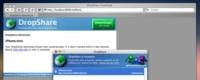 DropShare: Crea un enlace vía web a tus archivos, simplemente arrastrándolos sobre el programa