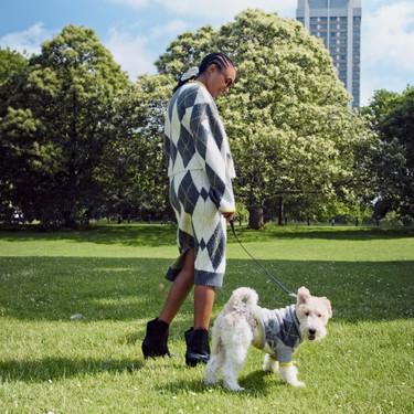 Ir a conjunto con tu perro y desprender estilo es posible, y te mostramos dos maneras de hacerlo con jerséis de H&M