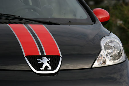 Peugeot 107 RC Line