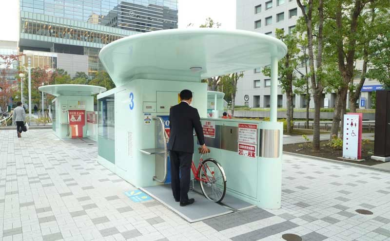 Eco Cycle In Tokyo