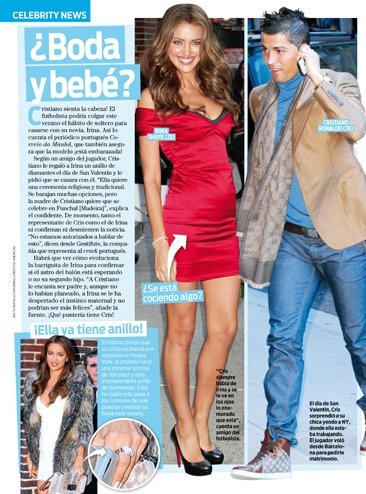 ¿Cristiano Ronaldo e Irina Shayk también oyen a la cigüena dando voces?